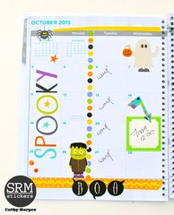 October Planner Page #1