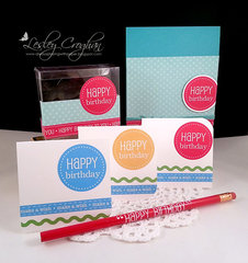 Happy Birthday Party decor,cards,treat boxes and more!