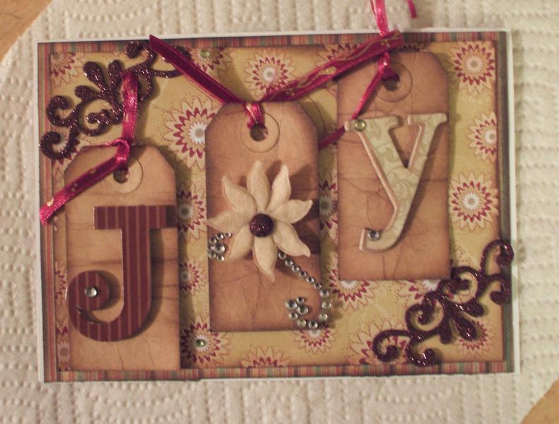 Joy Card (wines & browns)