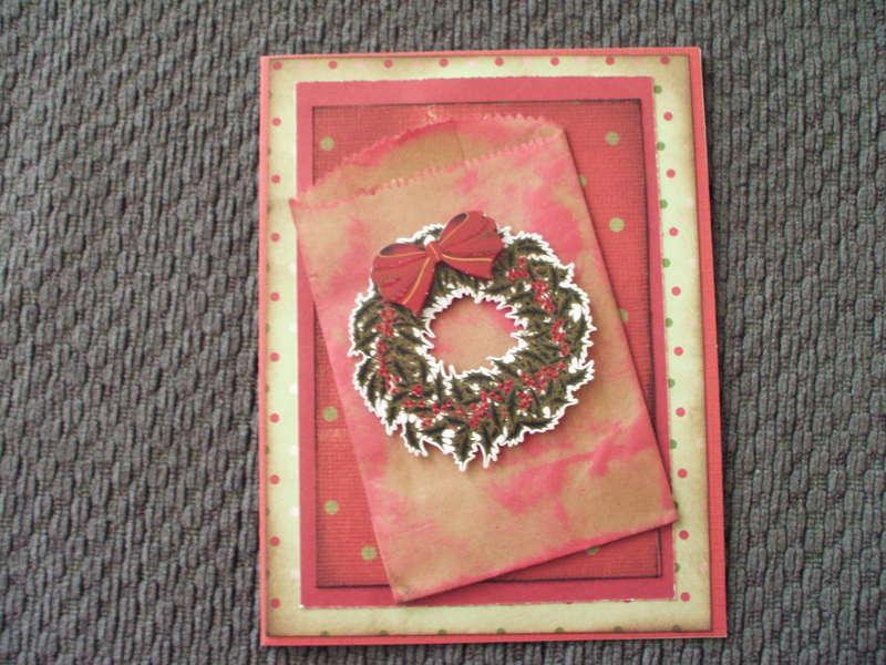 Christmas Card: Wreath