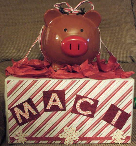 Piggy Bank/Christmas Box Layout