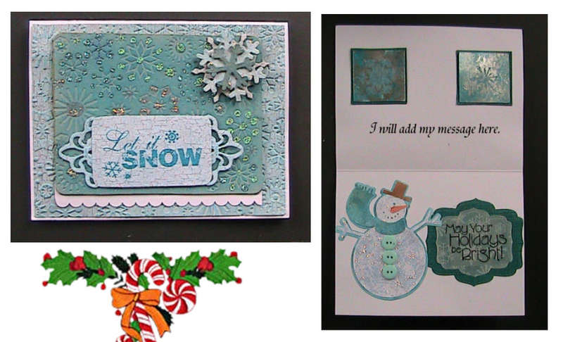 #11 Let it Snow Christmas Card