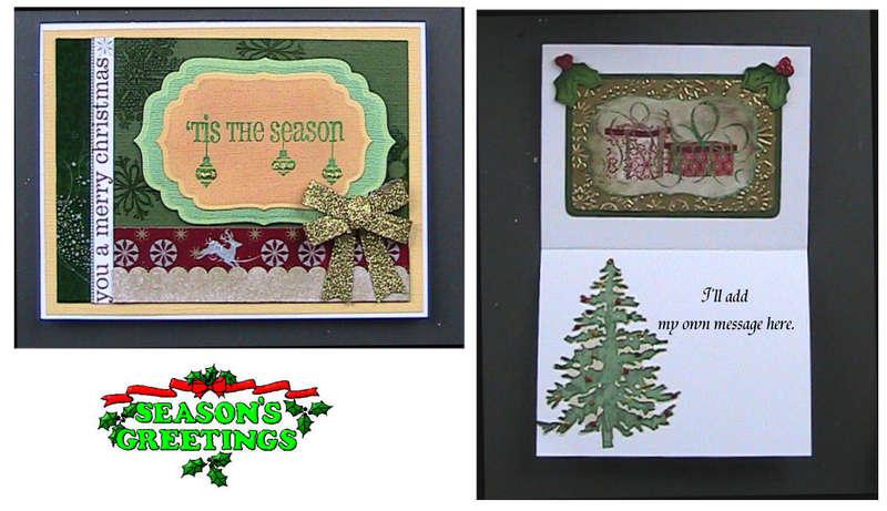 #12 Tis the Season Christmas Card