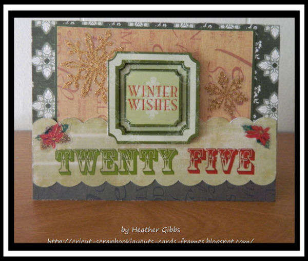 #56 Winter Wishes Christmas Card
