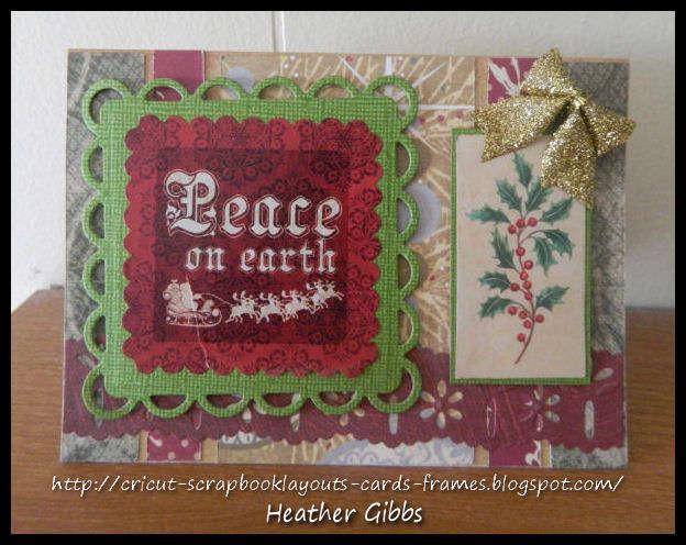 Vintage Christmas Card #29 Peace On Earth