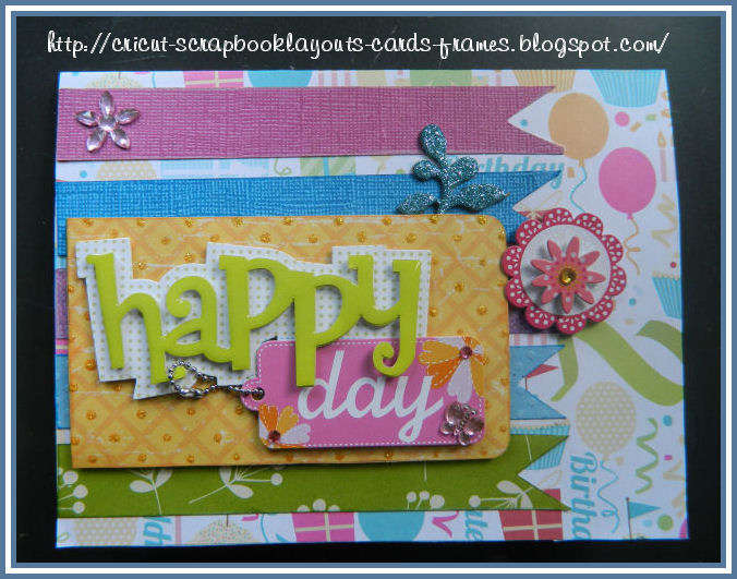 Mother's Colorful Birthday Card