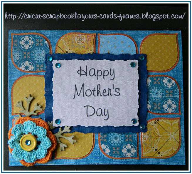 Tear Drop, Mother's Day Card