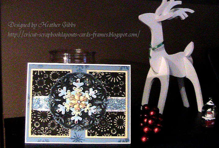 Nothing but Snowflakes Christmas Card