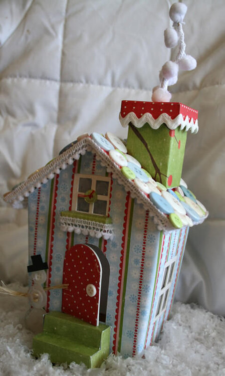 Christmas Mittens House