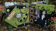 Mixed Shape Acrylic Halloween Album