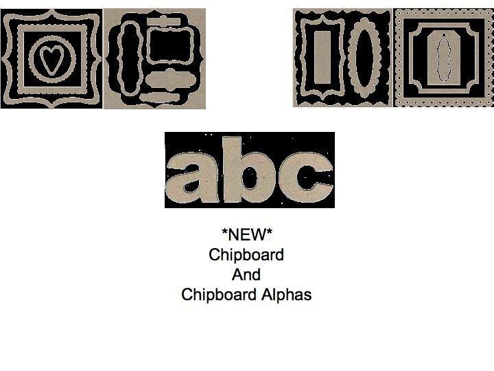 NEW Chipboard  **Rusty Pickle**