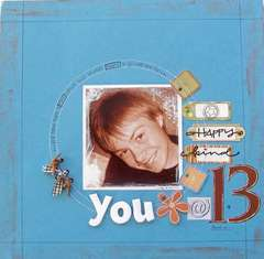 you @ 13