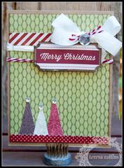 **Teresa Collins** Christmas Cottage - Merry Christmas Card