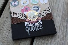 Creating a Quote Journal with Fiskars Designer: Smitha Katti