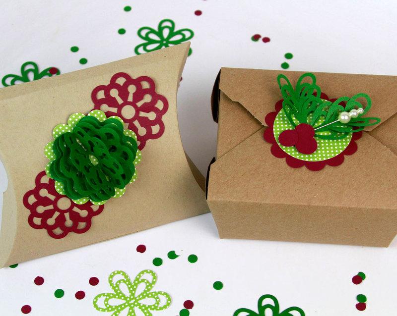 Crafty Gift Toppers by Fiskars Designer: Katrina Simeck