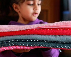 Easy Ombre Felt Blanket by Fiskars Designer: Smitha Katti