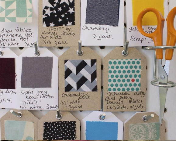 Fabric Swatch Tags by Fiskars Designer: Emma Jeffery