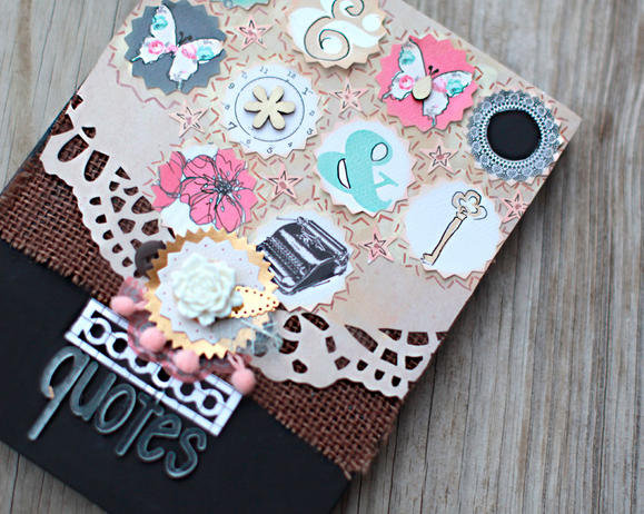 Creating a Quote Journal with Fiskars Designer: Smitha Katti