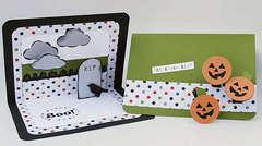 Pop up Halloween Cards by Katrina Simeck
