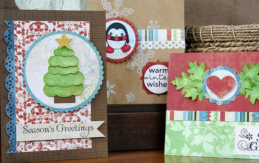 Quick Holiday Cards by Patti Milazzo