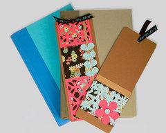 Spring Border Bookmarks by Fiskars Designer: Katrina Simeck