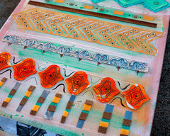 Tribal Wall Canvas by Fiskars Designer: Smitha Katti