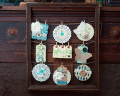 Turn an Old Frame into Wall Art by Kendra McCracken