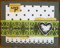 Love You by Designer: Lisa Truesdell