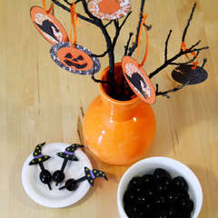 Halloween Tree Decor by Katrina Simeck