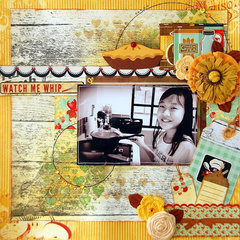 Kiss the Cook Layout
