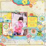 Take Some Time to Daydream by Tomoko Takahashi featuring Hello Sunshine by Bo Bunny
