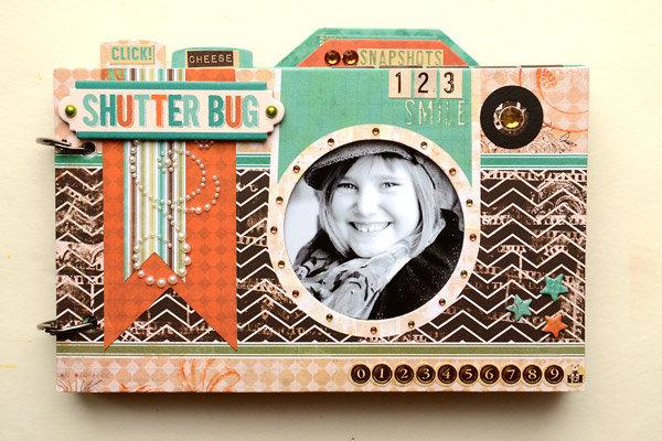 Bo Bunny Mama-Razzi 2 Mini Book by Vicki Boutin