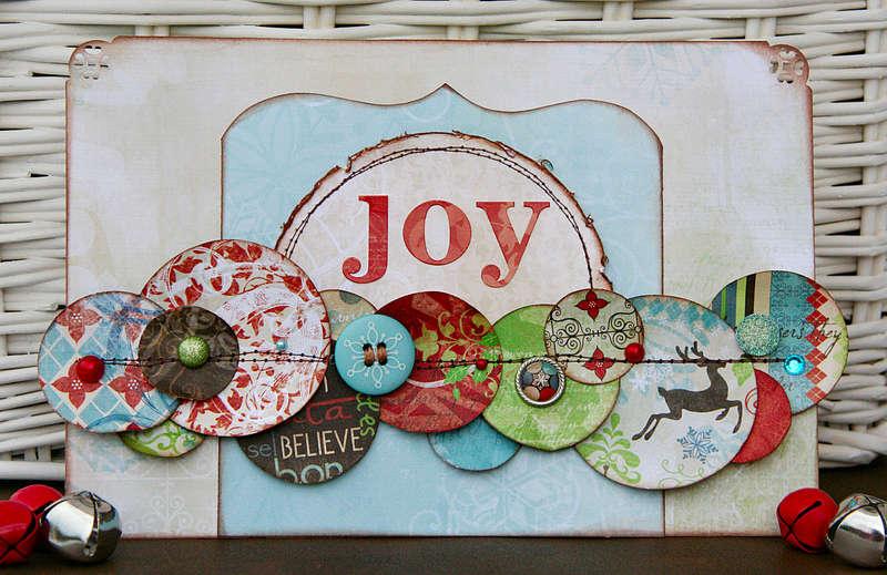 Joy by Patti Milazzo using Bo Bunny Blitzen