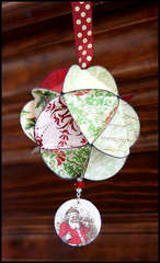 Geodesic Christmas Ornament