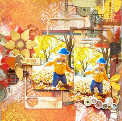 Autumn is Here Layout