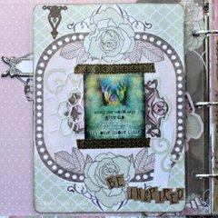 Primrose Misc Me Inspiration Journal by Rhonda Van Ginkel