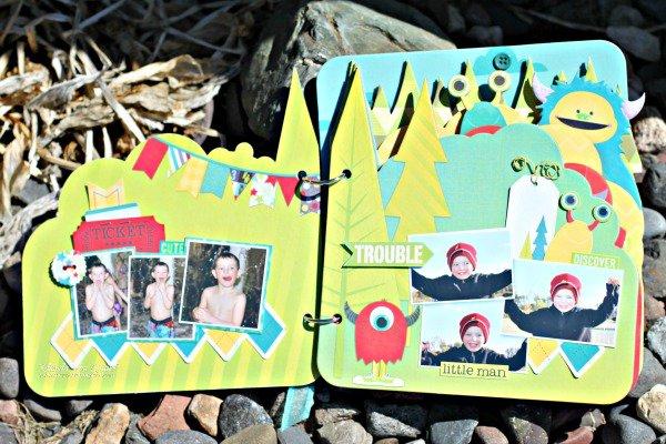 Our Lil' Monster Mini by Rhonda Van Ginkel