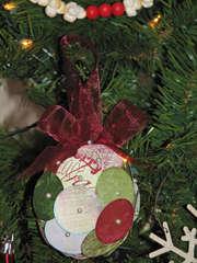Bo Bunny Believe Ornament