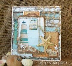 Nautical/Beach Card by Gabrielle Pollacco