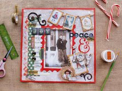Check out the complete Christmas Collage Collection from Bo Bunny