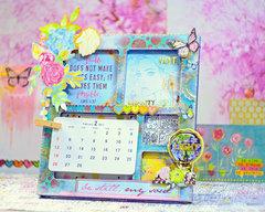 Clip Frame Calendar