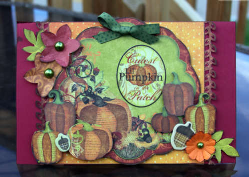 Pumpkin Patch by Debbie Sherman