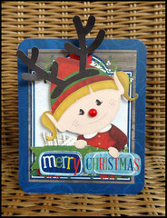 Merry Christmas using Elf Magic from Bo Bunny