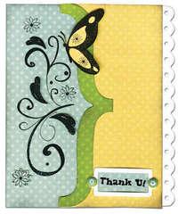 Thank You Card - Flutter Butter