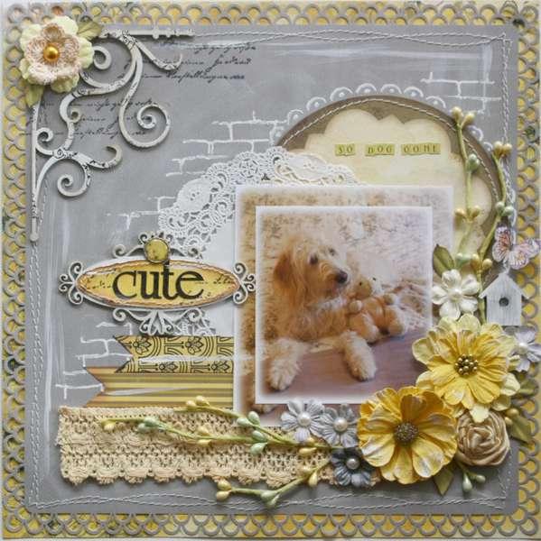 So Dog Gone Cute by Gabrielle Pollacco