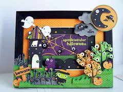 Spooktacular Halloween Frame