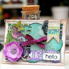 Hello Card by Irene Tan