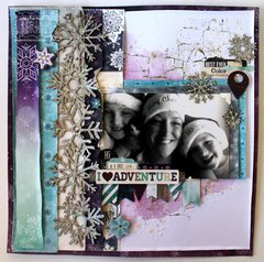 I ♥ Adventure layout by Bernii Miller