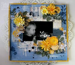 Happiness- Layout by Bernii Miller