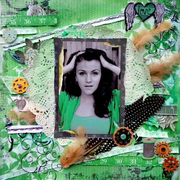 Love Feathers by Agnieszka Bellaidea